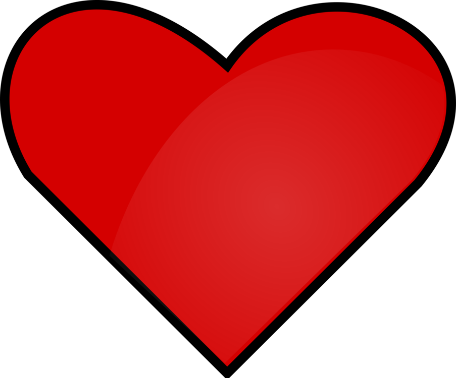 Heart Computer Icons Red Download Color Free Commercial Clipart