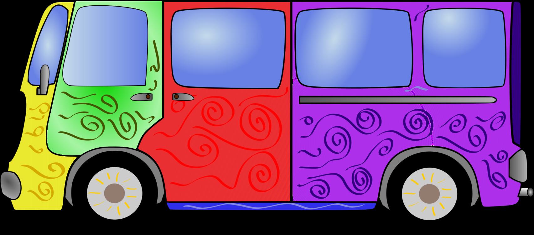Pink,Compact Car,Purple