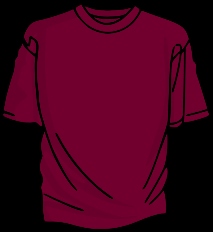 T Shirt,Maroon,Active Shirt