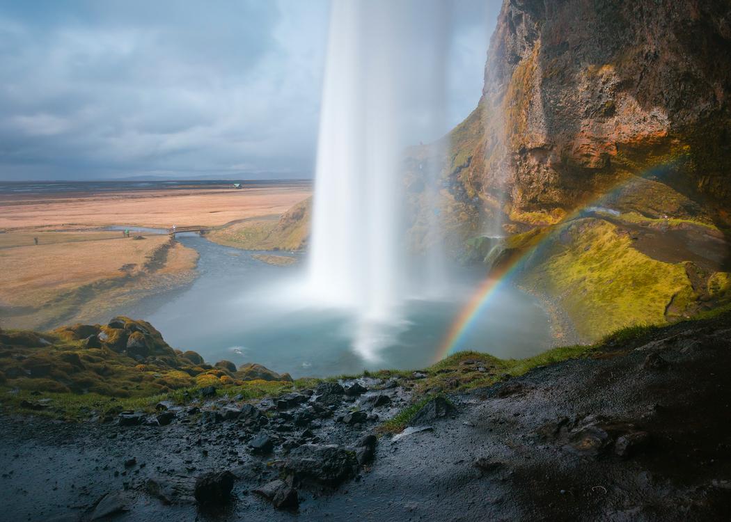 Rainbow,Chute,Sky