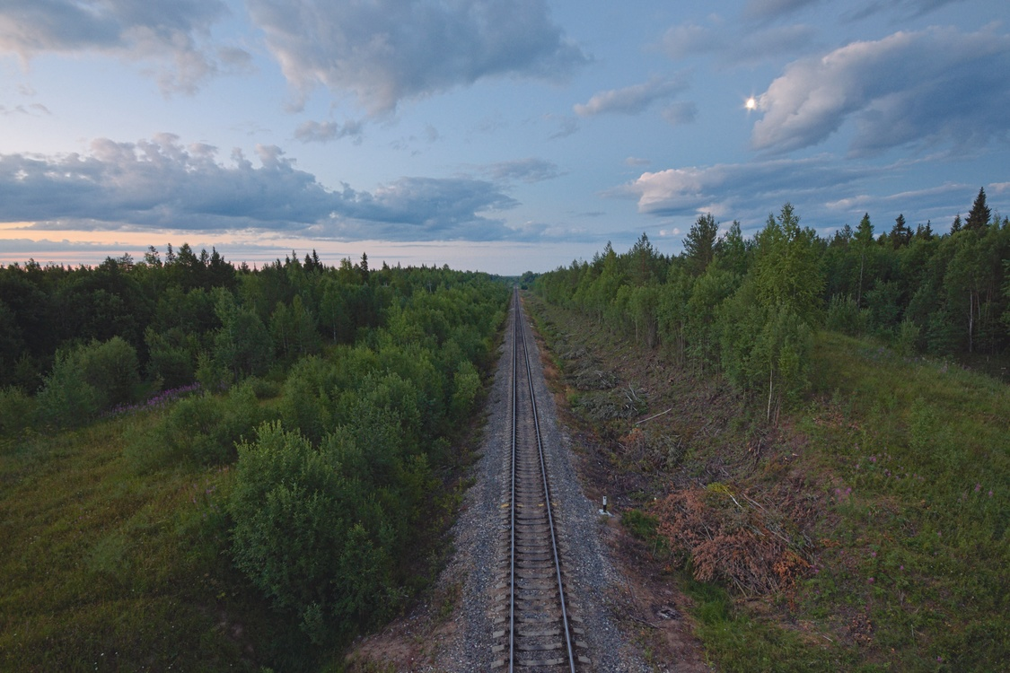 Rail Transport,Prairie,Ecoregion