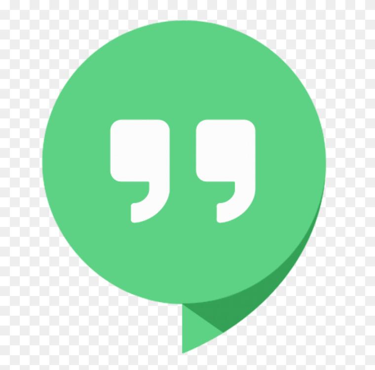 Google Hangouts Google Talk Google Voice Internet Free Png Image