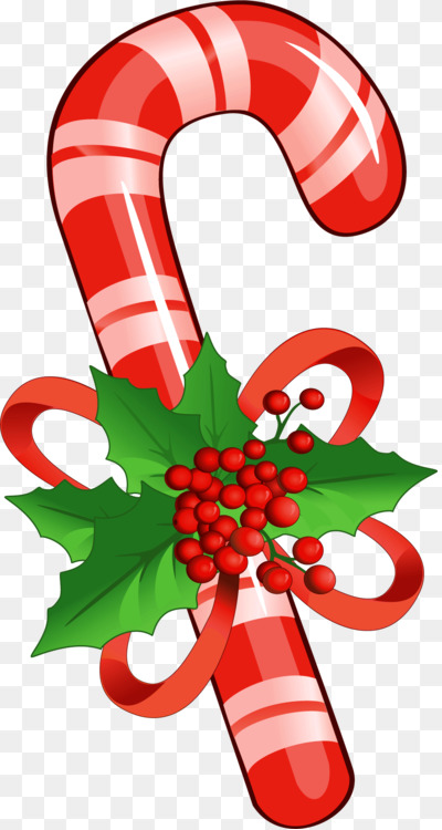 Candy Cane Christmas Decoration Child Coloring Book Free Png Image