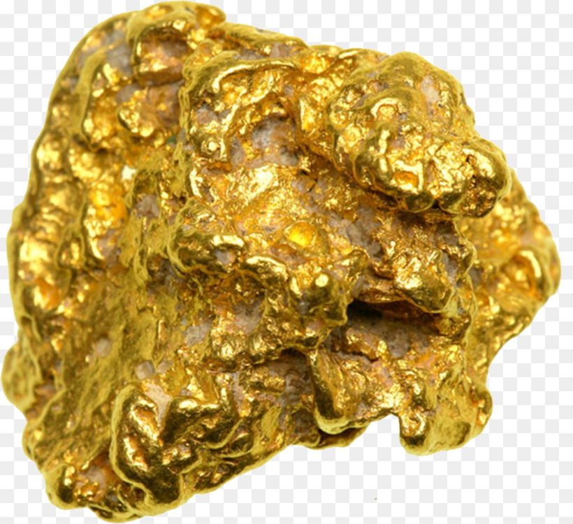 Gold Nugget Mining Prospecting Mineral
