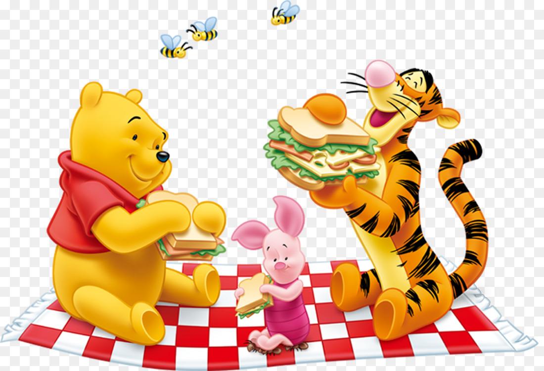 winnie the pooh tigger eeyore piglet winnie the pooh free png image