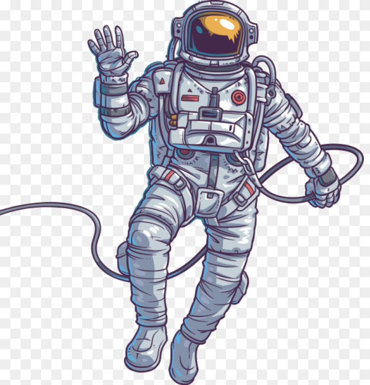 astronaut outer space template science free png image astronaut