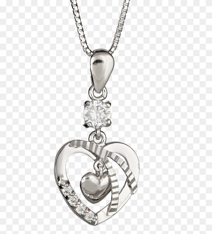 Heart,Diamond,Chain