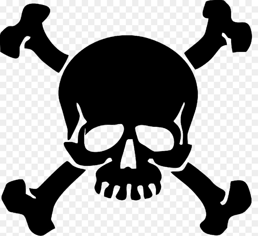 Decal Sticker Skull and crossbones Skull and Bones Free PNG Image ...