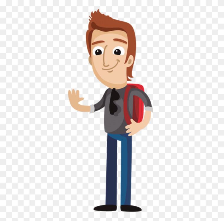 cartoon student vexel female free png image cartoon student