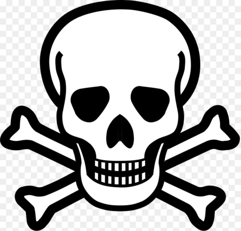 Skull and crossbones Skull and Bones Human skull symbolism Free PNG ...