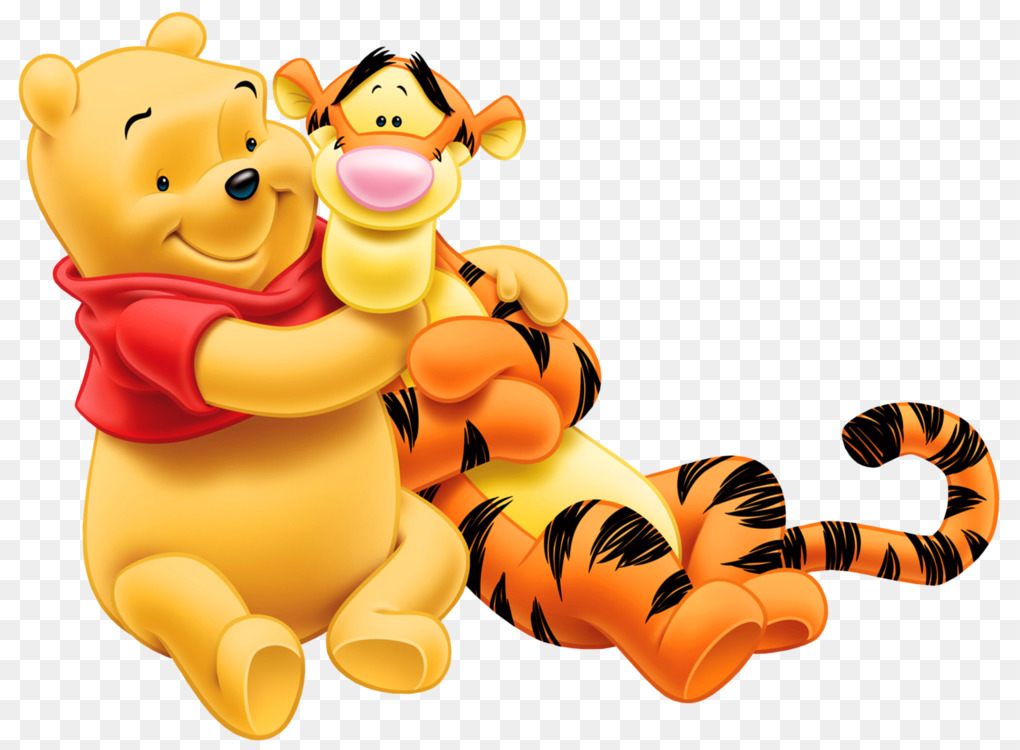 winnie the pooh piglet hundred acre wood tigger eeyore free png