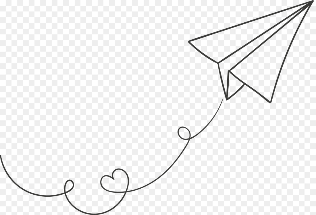 Paper Plane Airplane Drawing Flight CC0