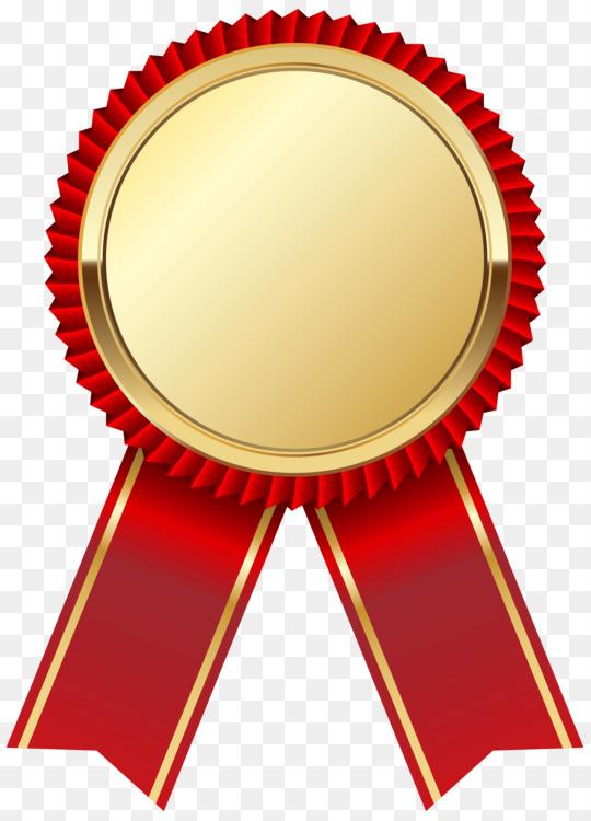 paper ribbon medal academic certificate rosette free png image