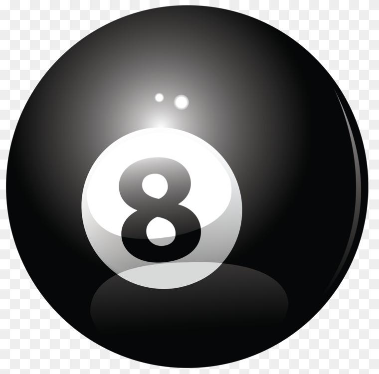 Billiard Balls Eight-ball Magic 8-Ball Billiards Pool Free PNG Image ... c61858d5f7ca