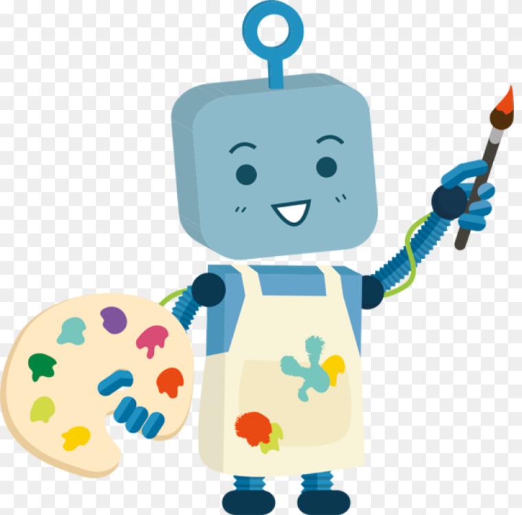 Paint Robot Painting Robot Free Android Free Png Image Robotpaint