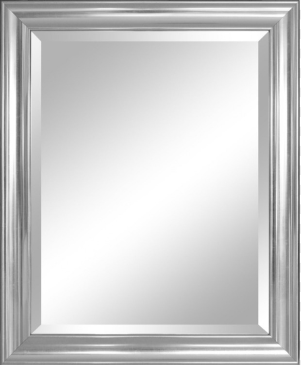 Window Picture Frames Bevel Mirror Silver Free PNG Image - Window ...