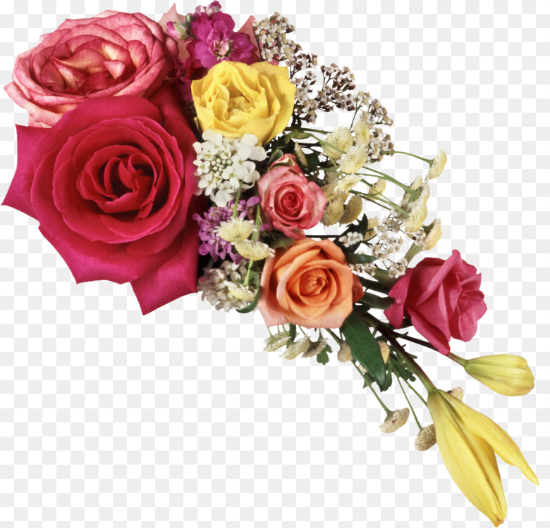 Flower bouquet Picture Frames Download Free PNG Image - Flower ...