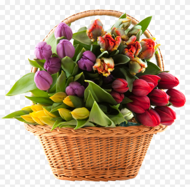 Flower bouquet Floral design Anniversary Basket Free PNG Image ...