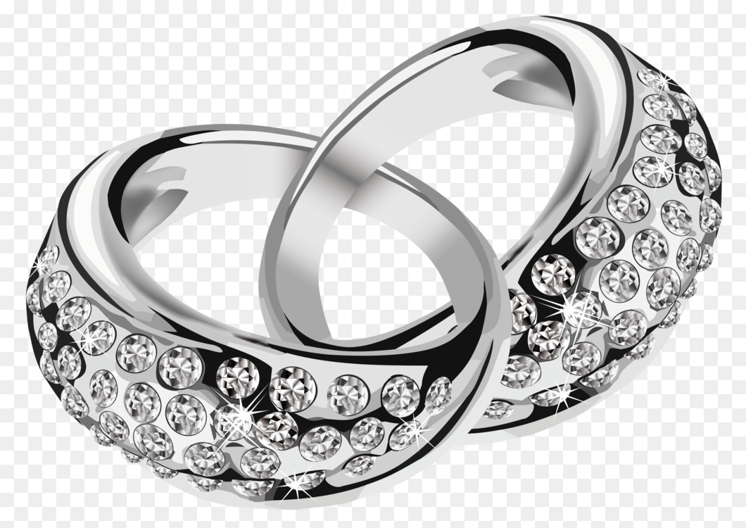 Silver Wedding Ring Jewellery Diamond Free Png Image Silver Ring