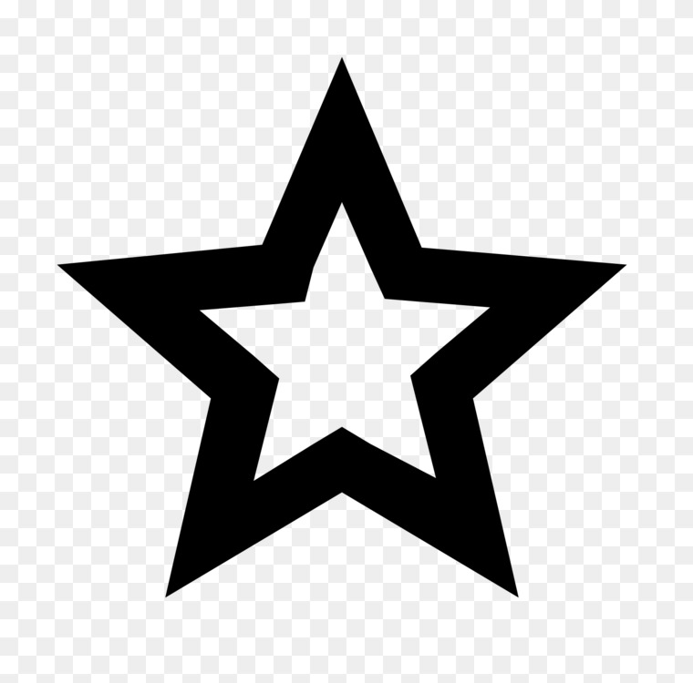Star Black And White Computer Icons Free Png Image Starblack And