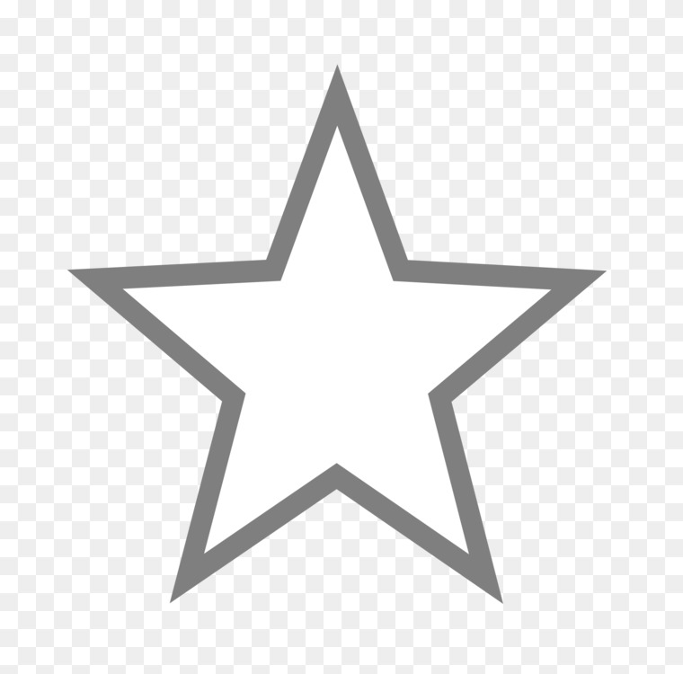 Five Pointed Star Shape Logo
