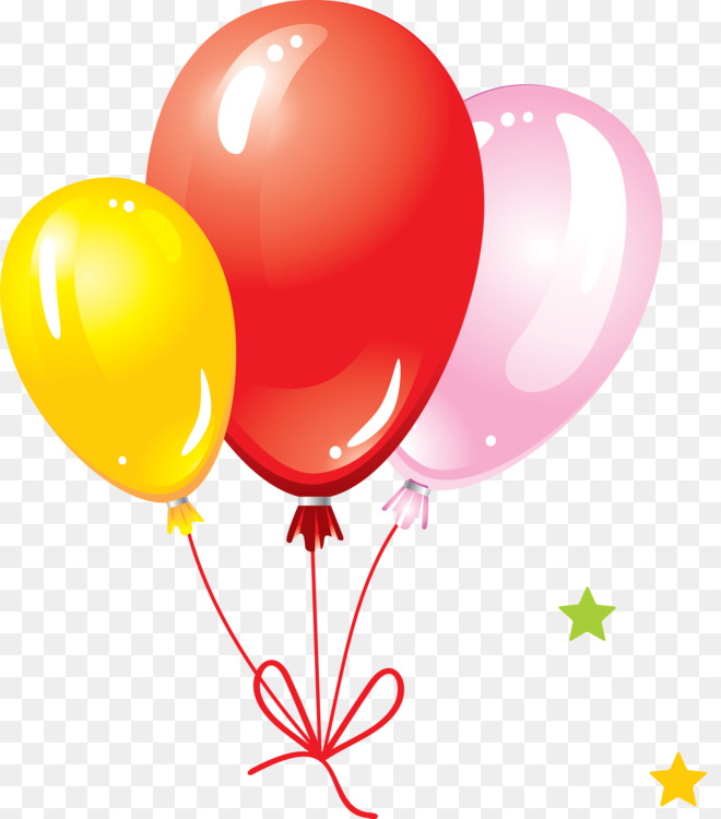 Balloon Birthday Cake Gift Free Png Image Balloon Birthday Gift