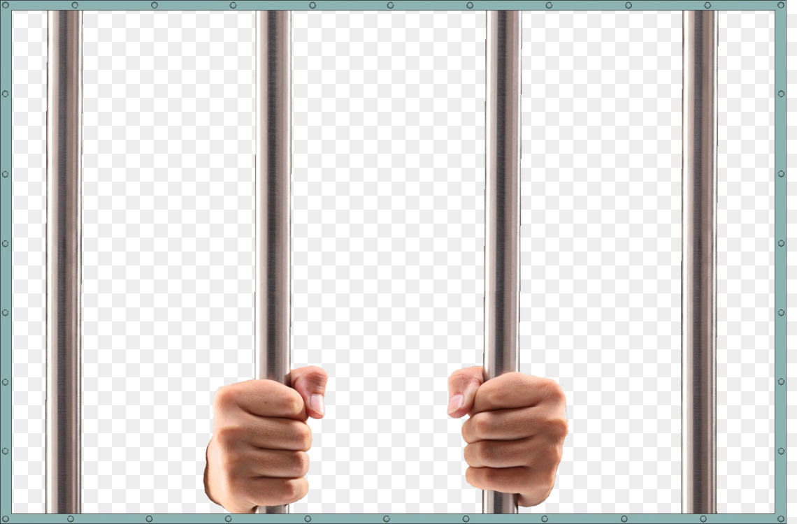 Holding cell prison nail