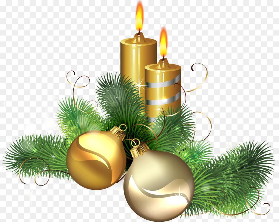Christmas Day Christmas Ornament Clip Art Christmas Candle Christmas
