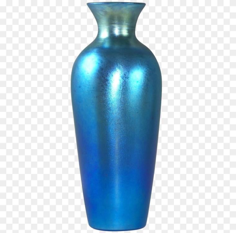 Vase Blue Johann Loetz Witwe Glass Art Free Png Image Vaseblue