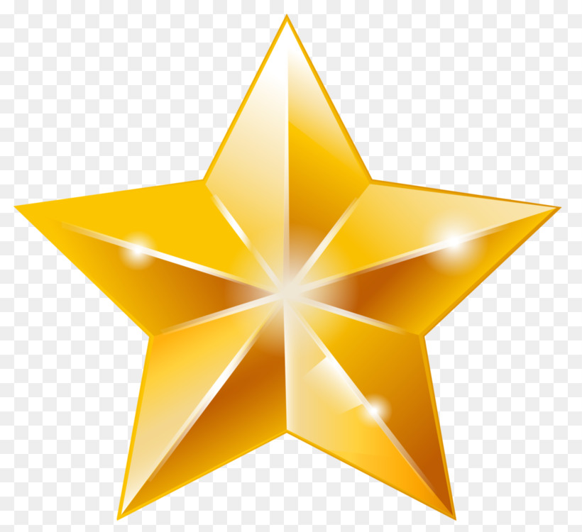 gold star polygons in art and culture free png image gold star