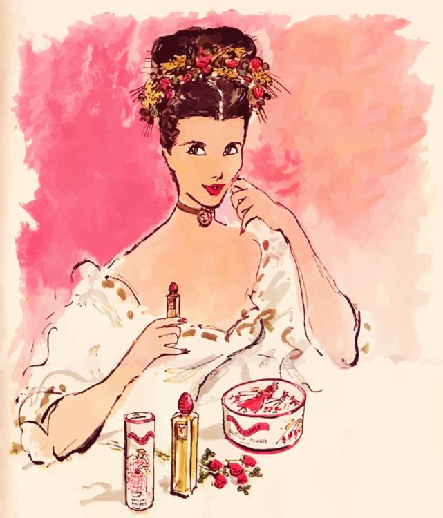 Pink,Fashion Illustration,Woman