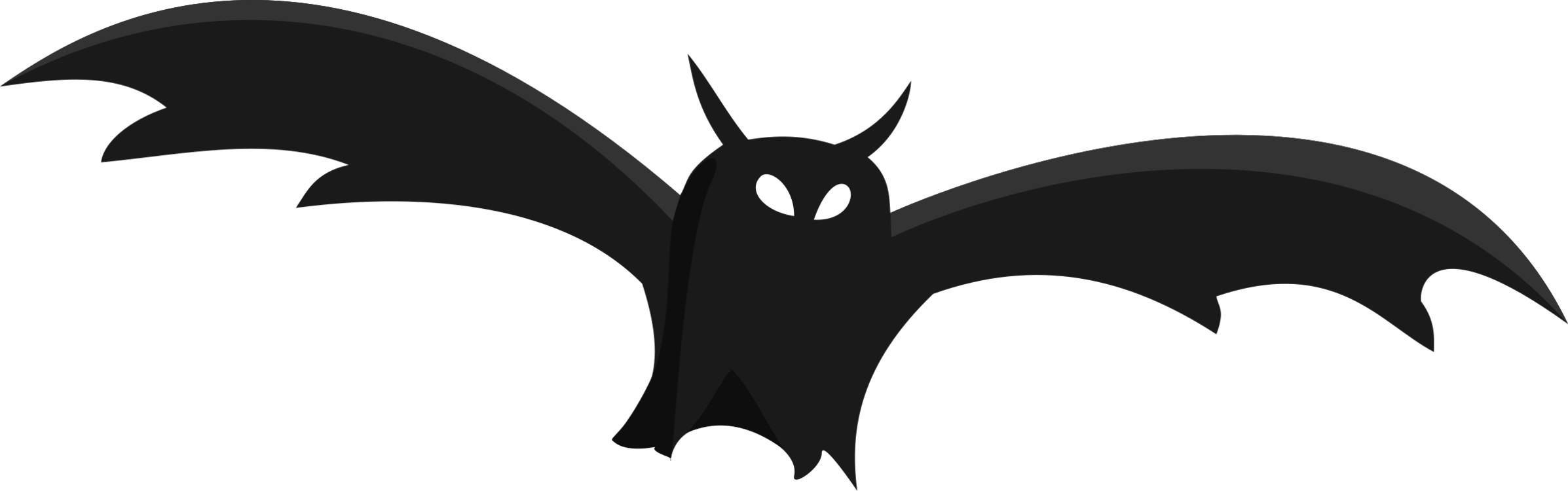Bat,Silhouette,Monochrome Photography