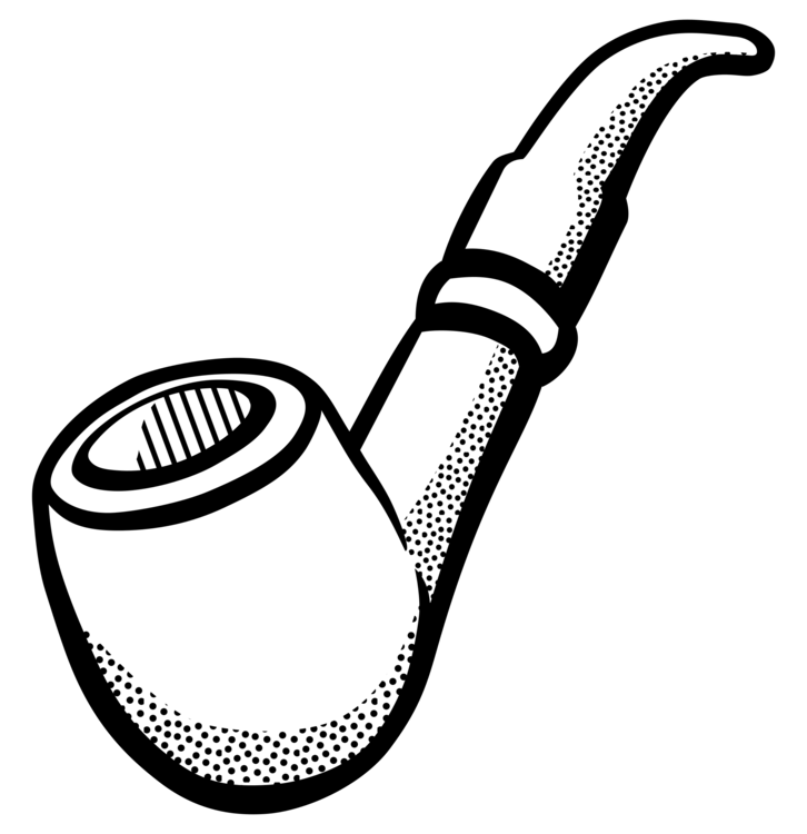 Cigarette Caricature tobacco pipe line art drawing smoking caricature free commercial