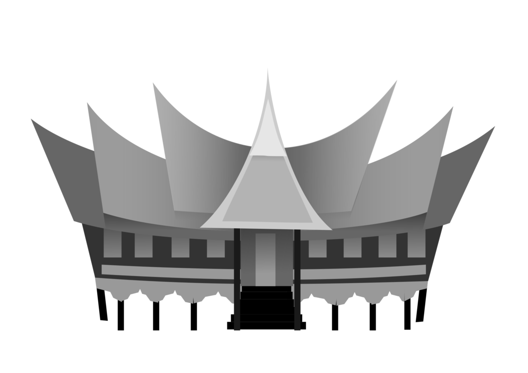Padang Rumah Gadang Minangkabau people House Rumah adat ...
