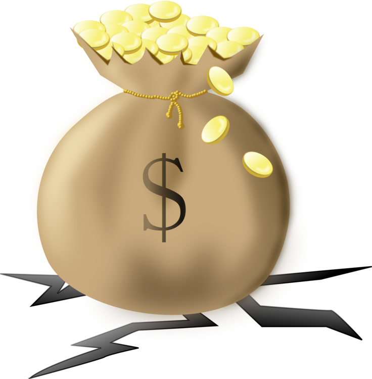 Yellow,Money Bag,Money