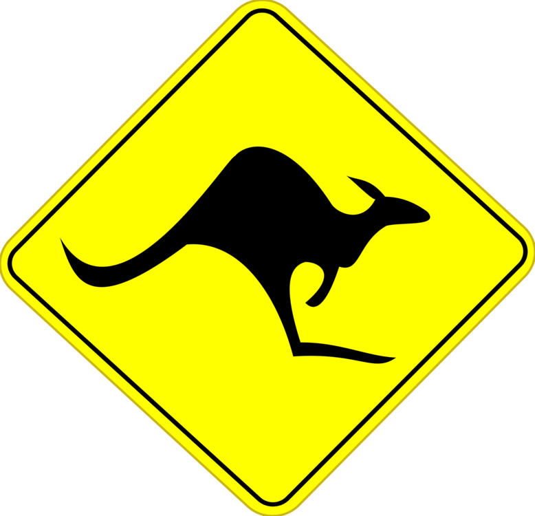 traffic sign road signs in australia warning sign free commercial rh kisscc0 com australia clipart png australia map clipart