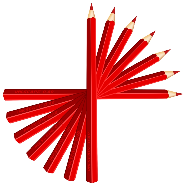 Pencil Line Red Png Clipart Royalty Free Svg Png