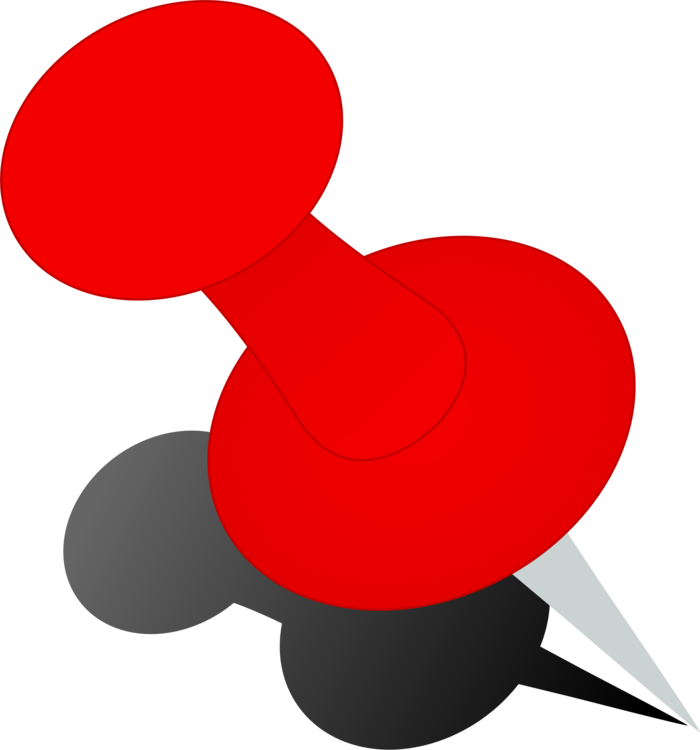 Line,Red,Drawing Pin