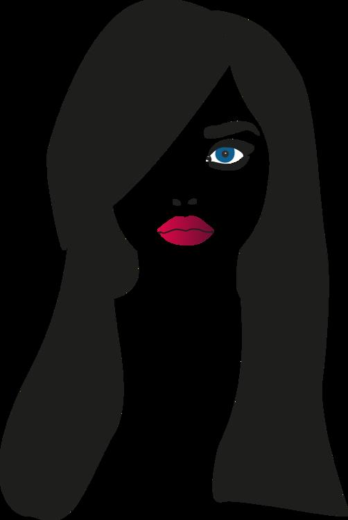 Head,Woman,Silhouette