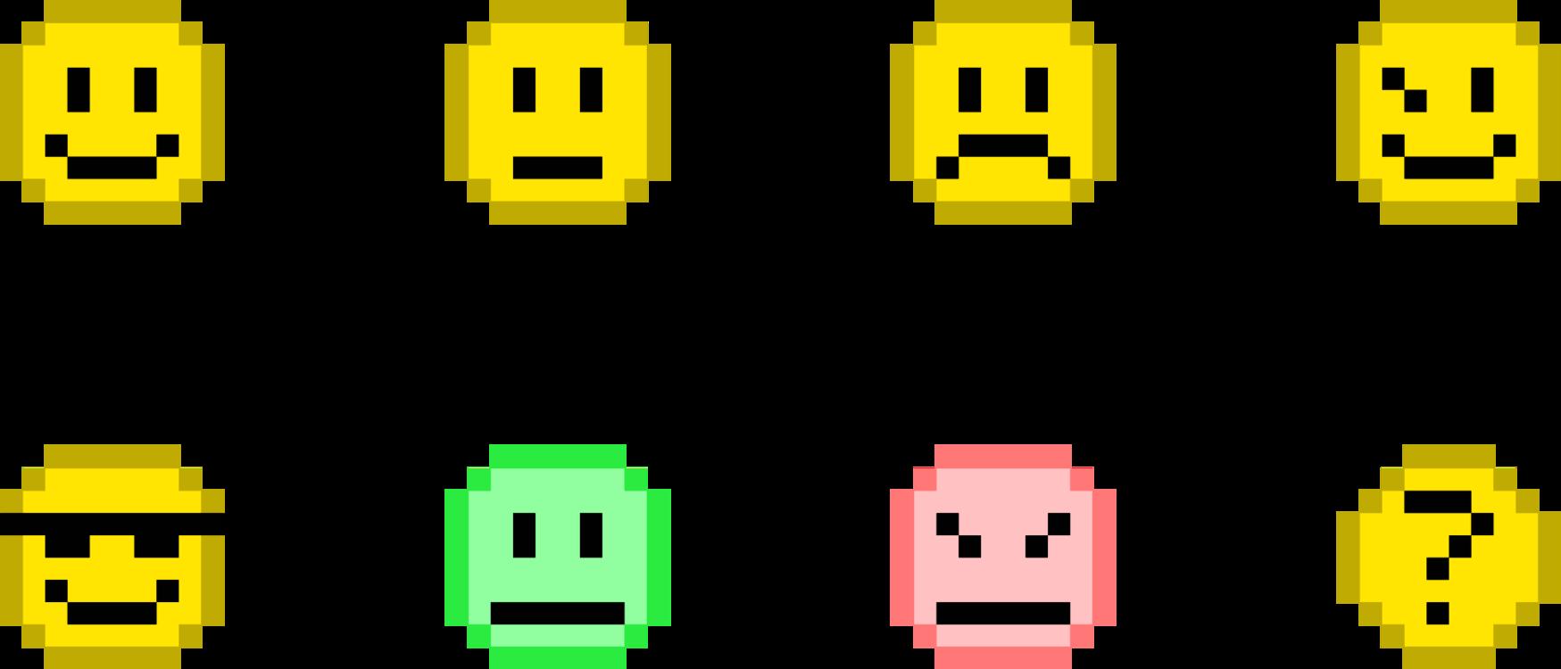 Sad Emoji Pixel Art Www Topsimages Com