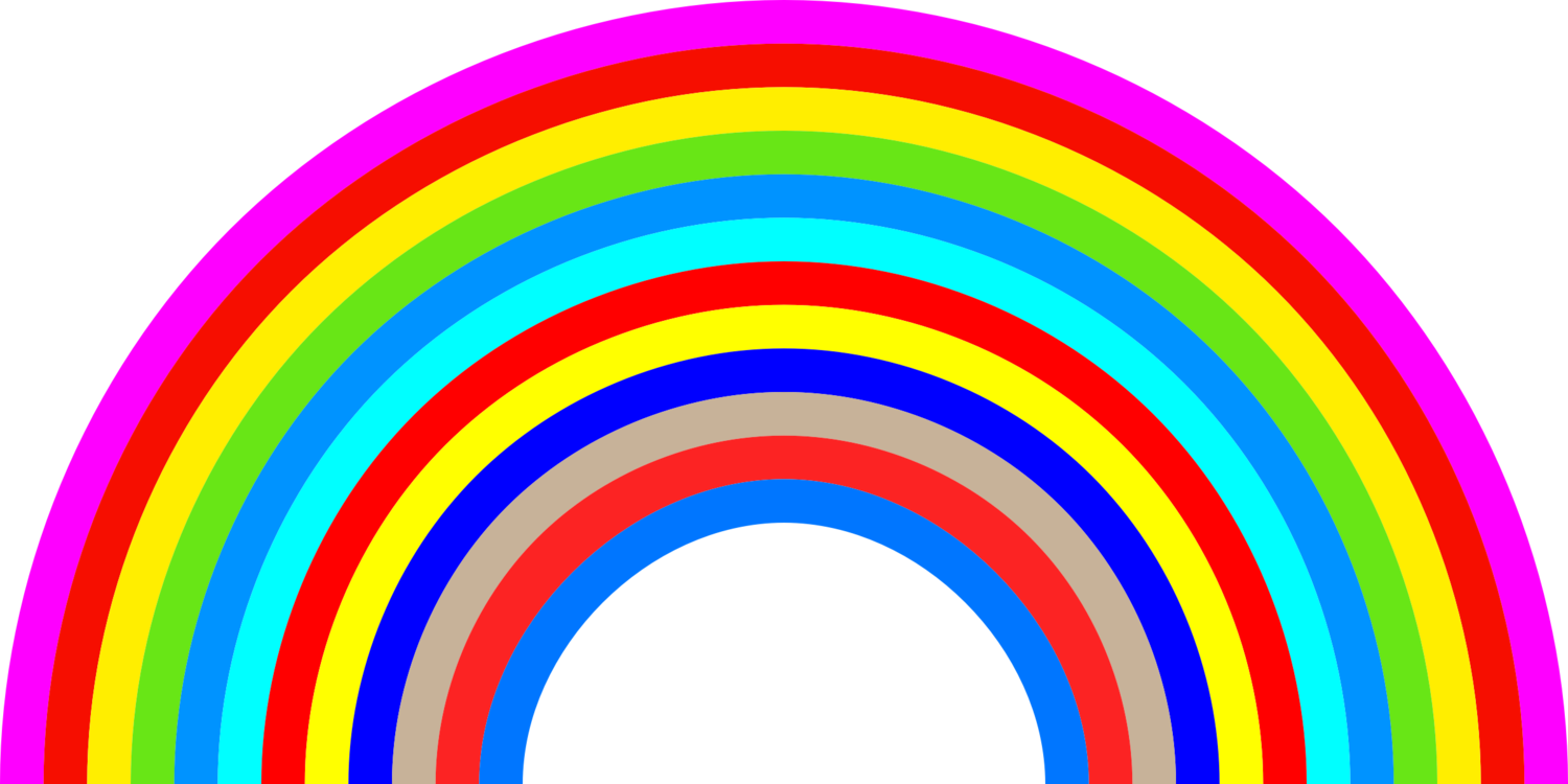 Rainbow Symmetry Text Png Clipart Royalty Free Svg Png