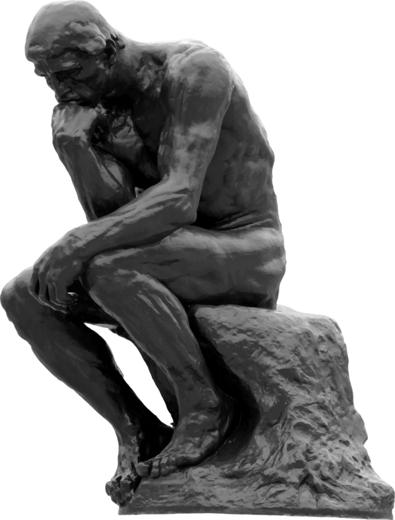 Classical Sculpture,Sitting,Monochrome Photography