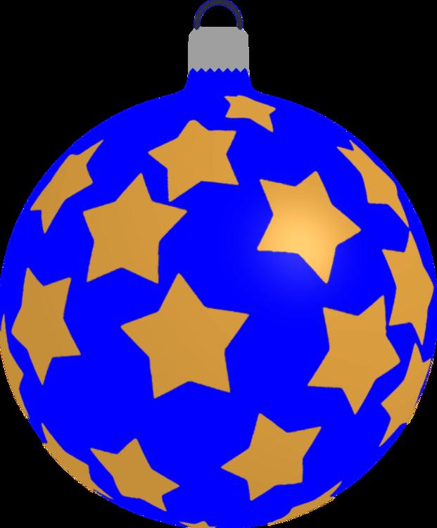 Christmas Ornament,Tree,Electric Blue