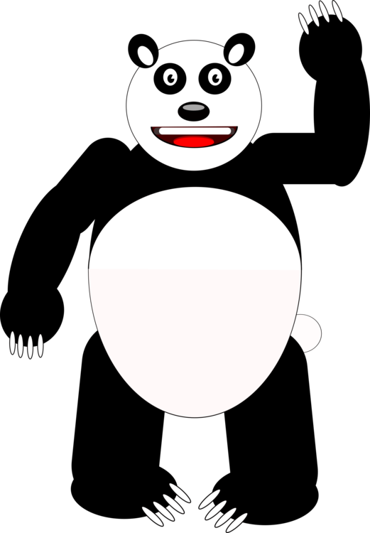 Human Behavior,Artwork,Giant Panda