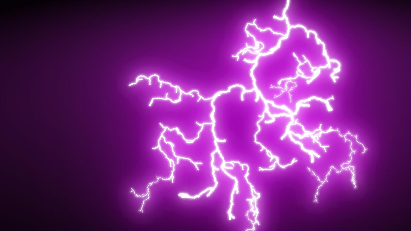 Purple,Sky,Lightning