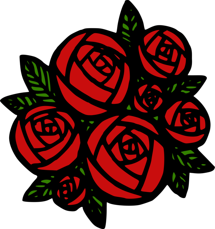 Rose Computer Icons Pict Drawing Color Free Commercial Clipart