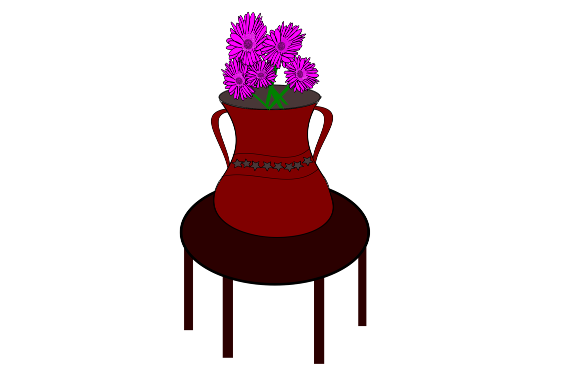 Table Vase Drawing Computer Icons Flower
