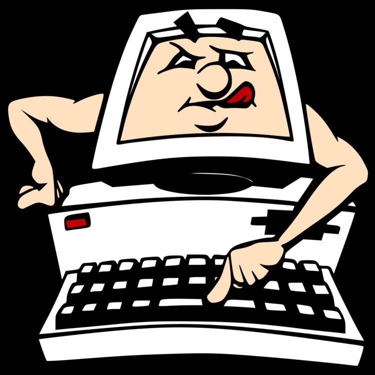 Computer Programmer Cartoon Internet Safety Humour Cc0 Human