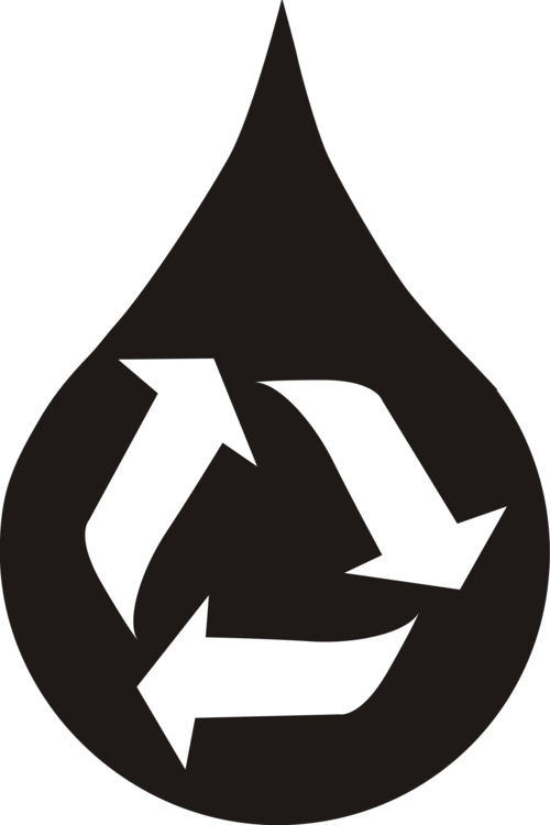 Reclaimed Water Computer Icons Recycling Symbol Free Commercial