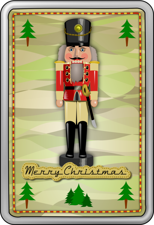 Nutcracker Christmas Tree Clipart.Nutcracker Christmas Decoration Drawing Png Clipart
